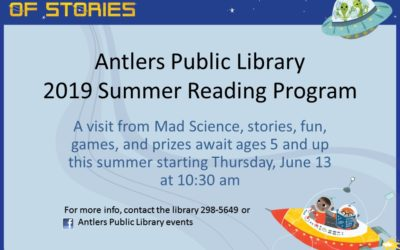Antlers Public Library Summer Reading Program 2019